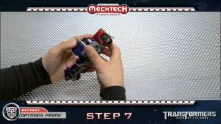 Transformers Optimus Prime Voyager MechTech Transformations | Instructional Video