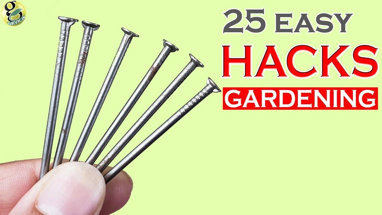 Garden tips and hacks top 25 gardening hacks and ideas compilation garden tips and hacks top 25 gardening hacks and ideas compilation part 1 happy new year 2018 workwithnaturefo