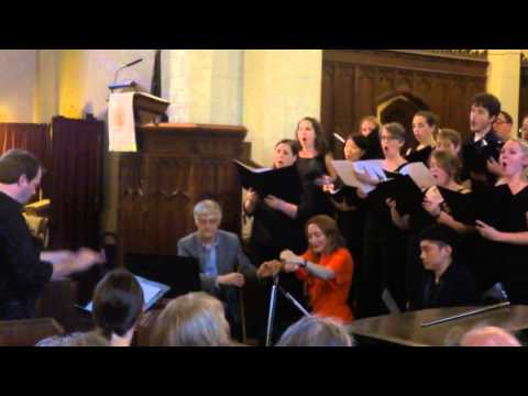 NYC Musical Saw Festival 2015- Motet, Ave Verum Corpus