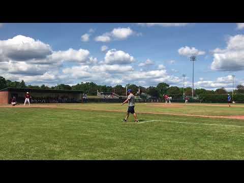 Jack Fitzgerald Pitching at Harvard, Aug 2017