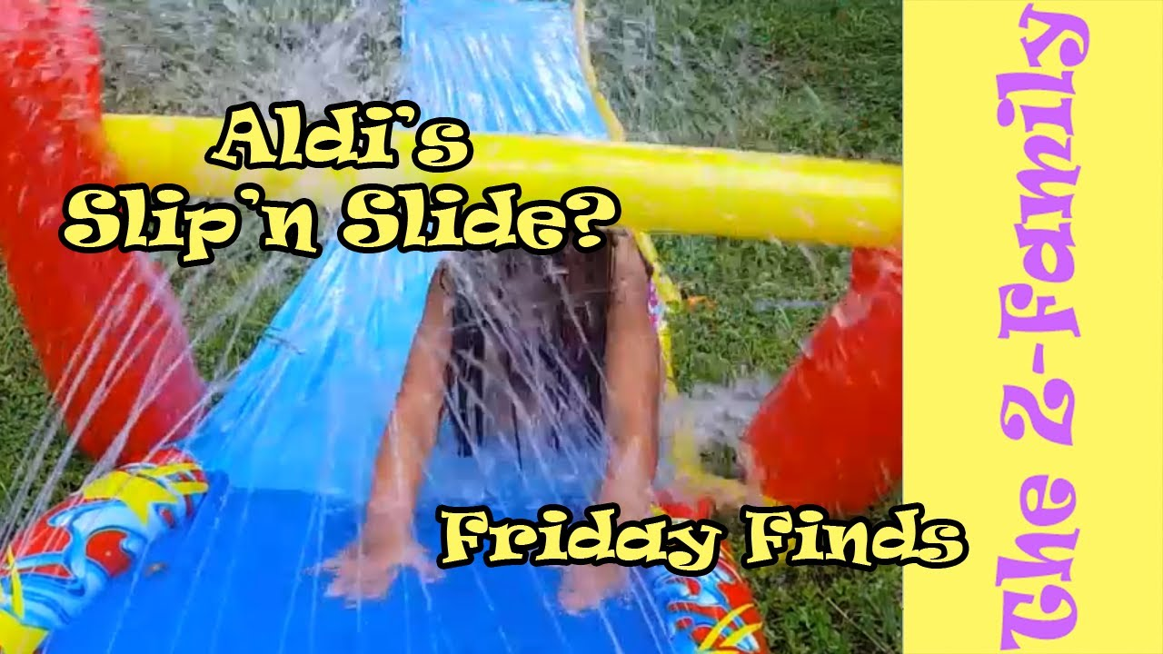 Aldi Intex Pool Friday Finds Aldi Slip N Slide