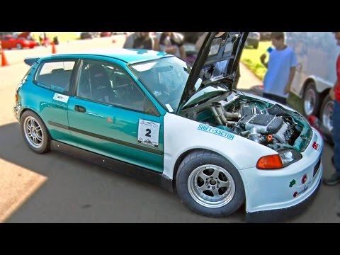 800hp V6 Turbo HONDA CIVIC - 189mph!