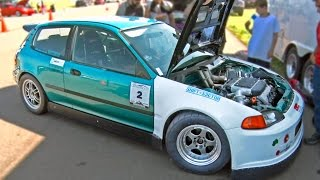 800hp V6 Turbo HONDA CIVIC - 189mph!