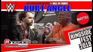 Gambar cover Ringside Fest 2018:  WWE HALL OF FAMER KURT ANGLE INTERVIEW!!!