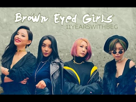 Brown Eyed Girls - 11th anniversary #11YearsWithBEG