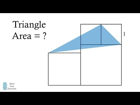 This Is Not Impossible! Solve For The Triangle's Area
