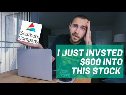 I Just Invested $600 Into This Stock! | Southern Company
