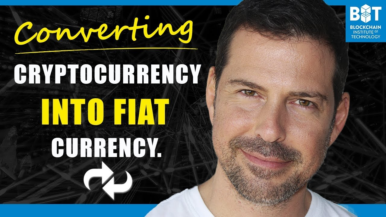 how to convert cryptocurrency to fiat currency