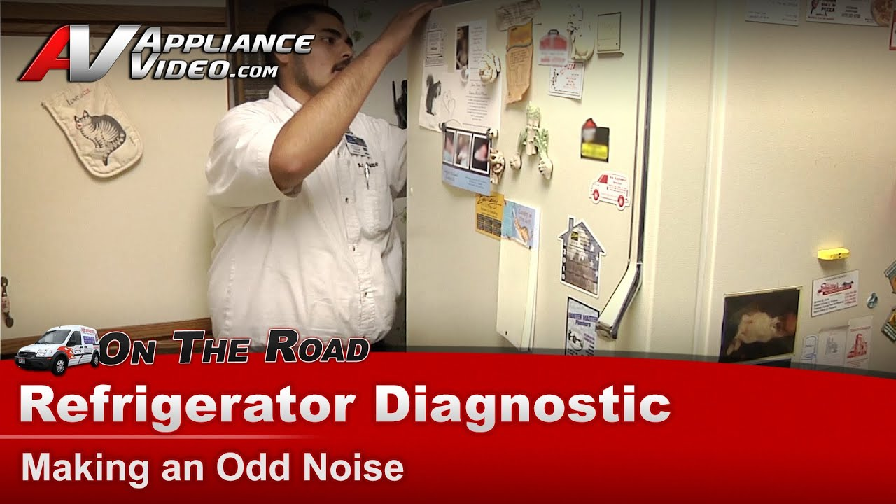 Whirlpool Refrigerator Diagnostic - Making an Odd Noise - EB21DKXBN00