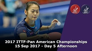 2017 ITTF-PanAm Championships - Day 5 Afternoon thumbnail