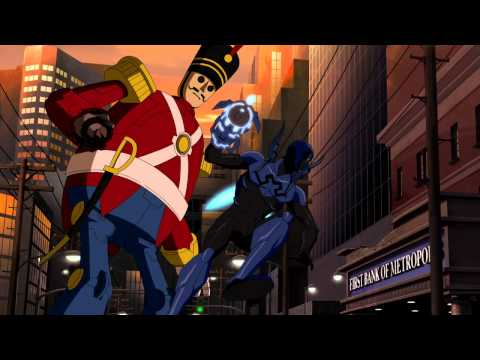 Blue Beetle vs Toy Man
