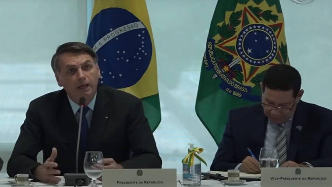 Notícias - Bolsonaro diz que vai interferir em ministérios em vídeo de reunião ministerial - online