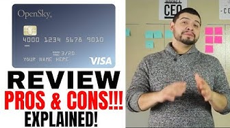 Opensky Secured Credit Card Review and Explained