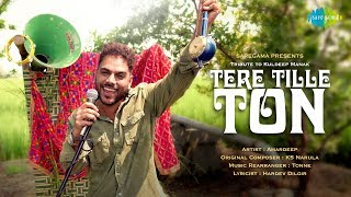 Tere Tille Ton | Amardeep Singh | Official Music Video | Latest Punjabi Song