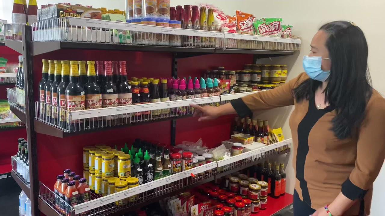 มีอาหารไทยกินแล้ว ร้านไทยเปิดใหม่ค่ะ ร้านThin Thaiใกล้บ้านยายนางค่ะ