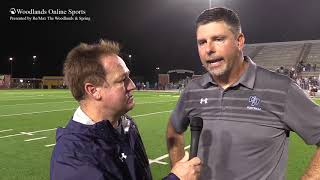 Woodlands Online Sports - Interview 09-21-18 - Coach Madison