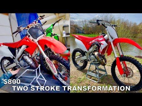 Turning a $1000 Dirt Bike into $8,000 Dirt Bike