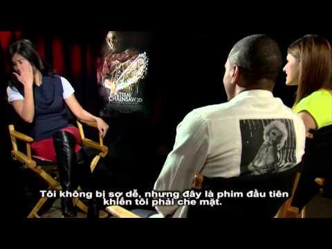 TEXAS CHAINSAW 3D interview: Trey Songz & Alexandra Daddario trò chuyện với Victoria Tố Uyên...