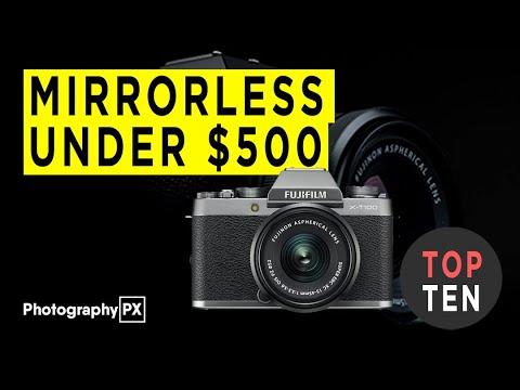 Best Mirrorless Cameras Under $500 For Beginners - 2020