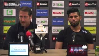SK Sturm: Mediabriefing vor SV Ried (33. Runde 2015/16)