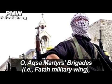Fatah official posts song encouraging dying for the Al-Aqsa Mosque, with visuals of Fatah fighters