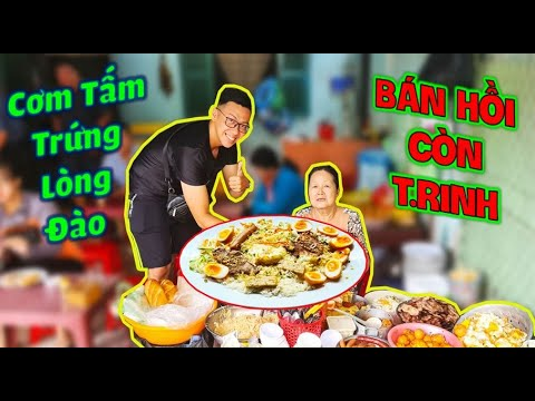 Bà Chủ CƠM TẤM TRỨNG LÒNG ĐÀO Tại Sài Gòn Gây Sốc Khi Nói Bán Cơm Từ Lúc Còn T.RINH Suốt 50 Năm.