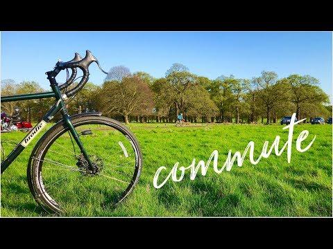 London Cycling Commute Via Richmond Park - Ride With Me April