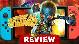 Is the Destroy All Humans! Remake on Switch Any Good? - REVIEW (Switch) (Video Game Video Review)