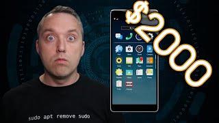 The $2000 Dollar Linux Phone   Librem 5 USA