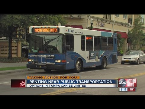 Choose your rental wisely if you rely on mass transit in Tampa Bay