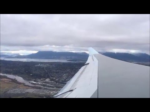 Air Canada A333 Vancouver - Montreal (Takeoff & Landing)
