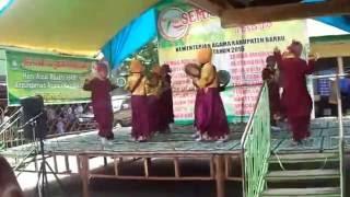 Juara 1 Qasidah (suasana Di Kota Santri) Kab. Barru Tingkt. MI ( Heboh, Keren abis....!)