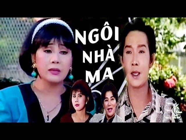 Cải Lương Xưa   Ngôi Nhà Ma - Vũ Linh Tài Linh   cải lương xã hội hài tâm lý trước 1975