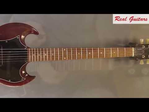 Realguitars - Rare And Vintage: 68er Gibson SG Junior