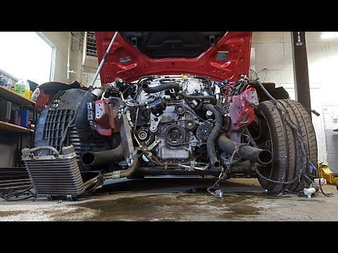 Totaled Nissan GT-R Rebuild - Part 4