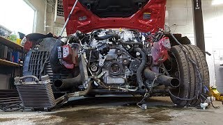 Totaled Nissan GT-R Rebuild - Part 4