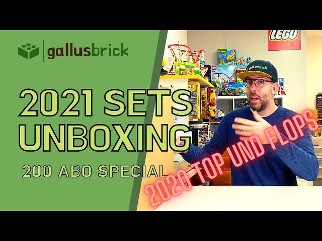 LEGO 2021 Sets Unboxing | Top und Flops vom 2020 | 200 ABO Special | Deutsch