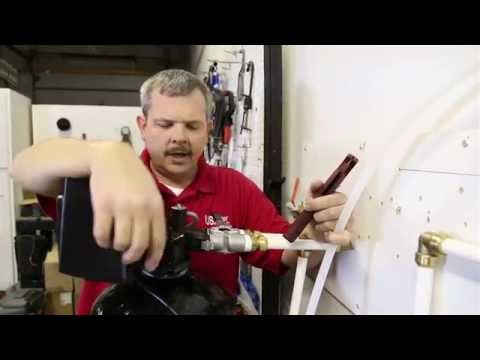 Installation - InFUSION Iron and Sulfur Eradication System (part 1 of 2 - plumbing)