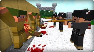 ⚠️Вторая Мировая Война [ДЕНЬ 2] Call of duty в Майнкрафт! Война в Майнкрафт! - (Minecraft - Сериал)