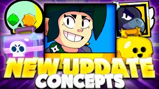 New Brawlers, Brawl Boxes IDEAS & More! - Best Update Community Concepts For Brawl Stars!