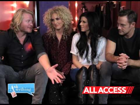 Little Big Town Answers Fan Questions w/ CMT's Cody Alan - After Midnite  - AskAnythingChat