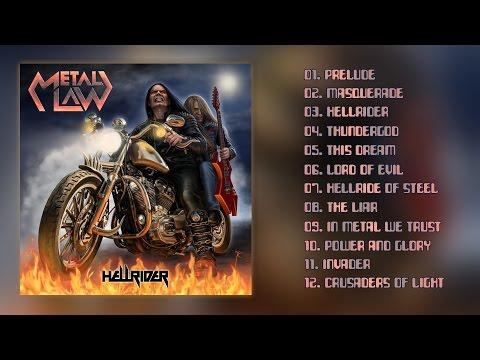 METAL LAW - Hellrider [Full Album] 2016