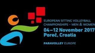 European Sitting Volleyball Championship Women Porec 2017, Italy vs Ukraine, 8.11.2017