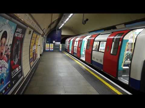 London Underground Jubilee Line Trains At St. John's Wood 12 August 2016