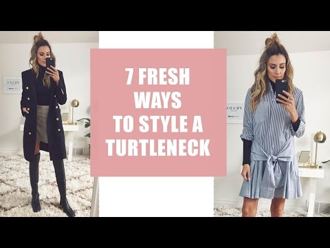 7 Fresh Ways to Style A Turtleneck