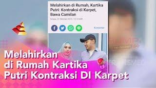 RUMPI - Melahirkan Di Rumah, Kartika Putri Kontraksi Di Karpet (25/10/19) Part1