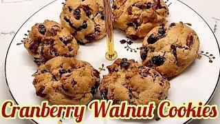 크렌베리월넛쿠키 (Cranberry Walnut Coo…