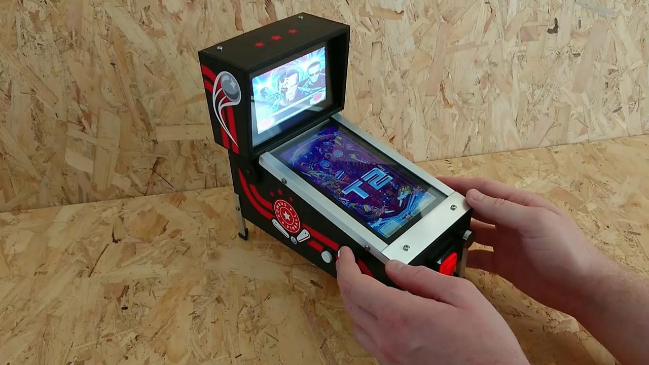 Create Your Amazing Mini Pinball Machine | Open Electronics