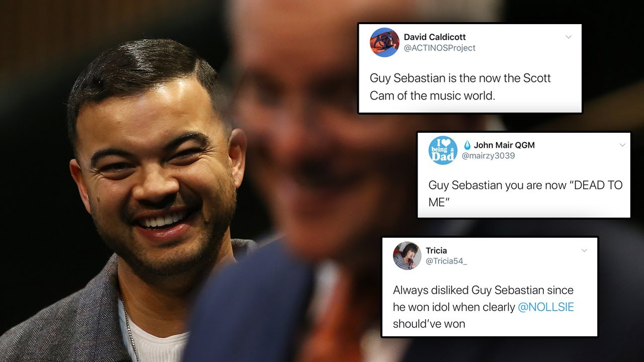 Guy Sebastian 'cancelled' by Twitter mobs after supporting Scott Morrison – Sky News Australia