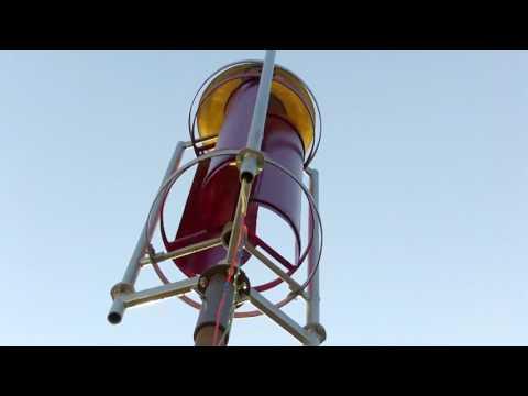 Простой вертикальный ветрогенератор своими руками
